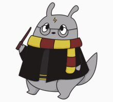 Harry Potter Totoro (Gryffindor) [Apparel & Transparent Stickers] by charsheee