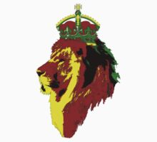Reggae/Rasta Lion of Zion by Slave UK