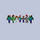 Christmas in MineCraft by pireX
