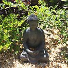 Our Garden Buddha by Vicki Childs