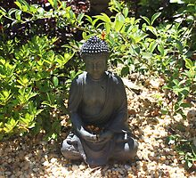 Our Garden Buddha by Staffaholic