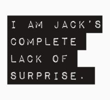 Lack of Surprise  by incipient