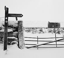 Winter on the Pennine Bridleway by fotohebden
