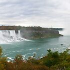 American and Horseshoe Falls by Gary Chapple