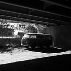 Van Under The Ramp by Gary Chapple