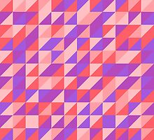 Retro Pink Pattern by Jamie Arthurwood