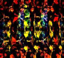 Colorful Abstract Collage by perkinsdesigns