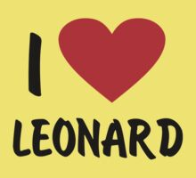 I Love Leonard by monkeybrain