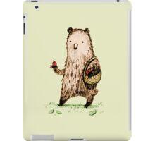 Apple Pickin' Bear iPad Case/Skin