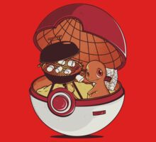 Red Pokehouse by Donnie Illustration