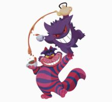 Gengar Meets the Cheshire Cat by everlander