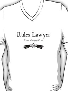 WoD Rules Lawyer T-Shirt