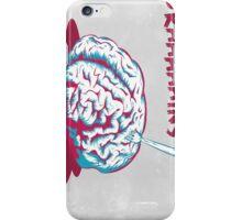 Brain [is] food iPhone Case/Skin