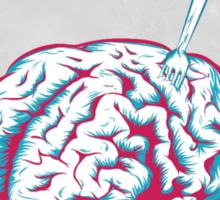 Brain [is] food Sticker