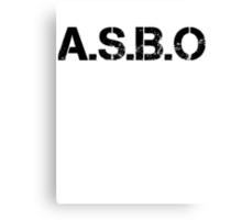 A.S.B.O Canvas Print