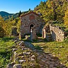 Saint Christopher little church in Mystras by Konstantinos Arvanitopoulos