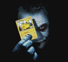 Joker Plays a card - Pikachu by StraightEK