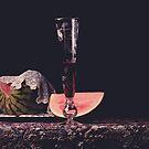 Watermelon. Lace. Wine. by Rachel Slepekis