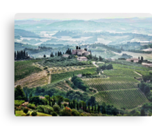 San Gimignano View Metal Print