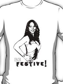 "Mariah ""Be Festive"" (Style: Light)  T-Shirt"