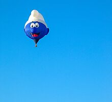 smurf balloon by Steven Ralser