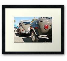 vintage vw cruiser Framed Print