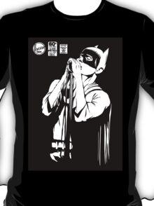 Post-Punk Dark Knight | The Shadowplay B&W Edition T-Shirt