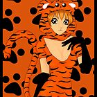 Tiger Girl by LARiozzi