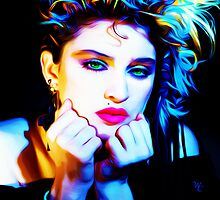 Madonna - Madonna - Pop Art by wcsmack