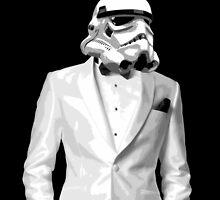 Sharp Dressed Stormtrooper Phone by David Ayala
