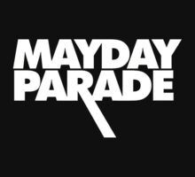 Mayday Parade logo (white) by MinecraftERR0R