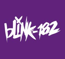 Blink 182 Classic Design 2 (White) by RWHTL
