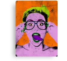 Miley Warhol Canvas Print