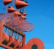 Wind Sculpture - Cesar Manrique by Franglais