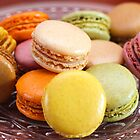 French Macaroons for Dessert by Elizabeth Thomas