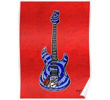 Dormouse Guitar Poster