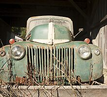 40's Ford by Irene VanBuskirk