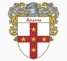 Adams Coat of Arms/Family Crest by William Martin