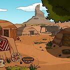 Navajo Village by AdrianaC