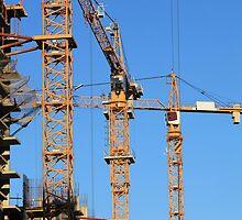 tower cranes by mrivserg