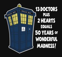 50 Years, 13 Doctors (2) by gotmoxy