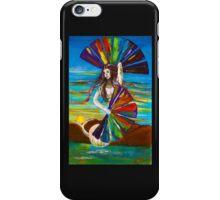 Rainbow Goddess after the Rain iPhone Case/Skin