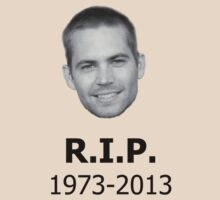 R.I.P. Paul Walker by timnock