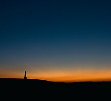 Stoodley Pike Sunset by fotohebden