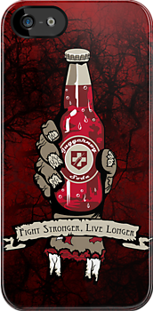 Fight Stronger, Live Longer by LocoRoboCo