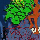 Graffiti Climbers by Bine