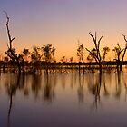 Sunrise at Lake Fyans by Leanne Robson