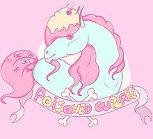 Poisoned Cupcake print by nellyken