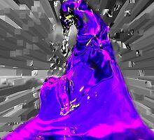 dark side in purple by yesdigiterarte