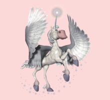 Cute Winged Pony .. tee shirt by LoneAngel